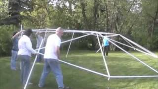 Wedding Tent Assembly