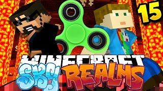 Minecraft: SKYREALMS | FIDGET SPINNER CHALLENGE??