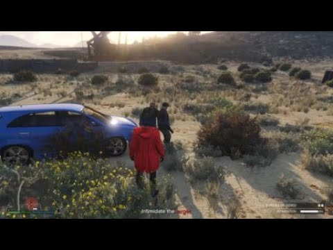 Grand Theft Auto V did not expect that at all