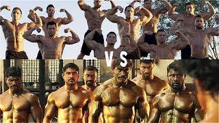 Indian 🇮🇳 VS 🇺🇸 AMERICAN BODYBUILDERS   Fitness & Bodybuilding Motivation