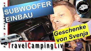 Kai schraubt / Pioneer TS-WX130EA Subwoofer Einbau im Kastenwagen / Ein Paket von Svenja