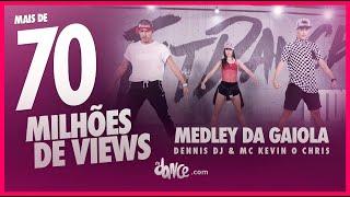 Medley da Gaiola - Dennis DJ & MC Kevin o Chris | FitDance TV (Coreografia) Dance Video