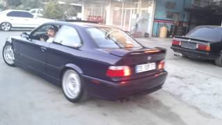 BMW E36 Exhaust And Burnout