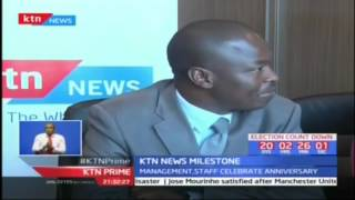 KTN News marks 2 years at the helm of live news coverage and reporting