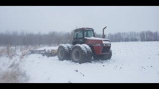 Winter is here!!!.....John Deere 3710 Plow