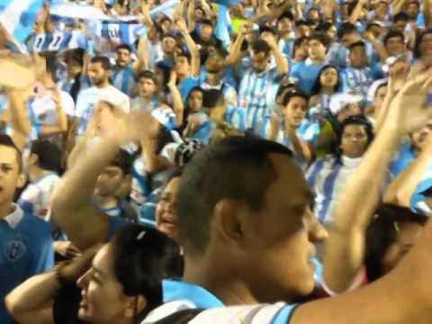 """Bac - Banda Alma Celeste/ Paysandu 1 x 0 Salgayro"" Barra: Alma Celeste • Club: Paysandu"