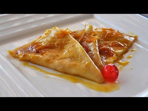 Crepes Suzette - Recetas Mallorquinas