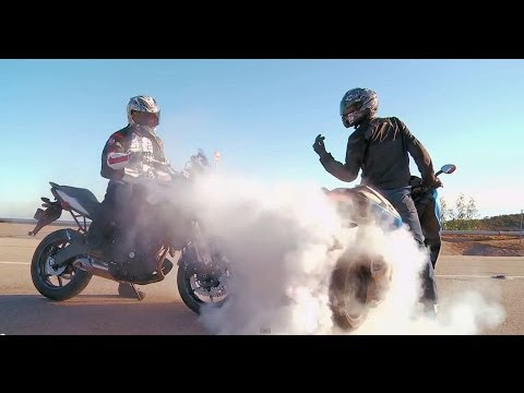 City Bike Shootout! BMW C600 Sport vs. Honda NC700X vs. Kawasaki Versys | On Two Wheels