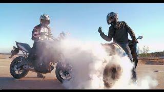City Bike Shootout! BMW C600 Sport vs. Honda NC700X vs. Kawasaki Versys | On Two Wheels