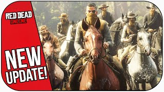 Today's NEW Red Dead Online Update!