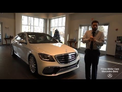 RARE BRAND NEW 2019 Mercedes-Benz S-Class S65 AMG® Sedan  video review with Mike
