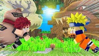Minecraft Naruto C, KYUUBI vs SHUKAKU! Gaara VS Naruto 09