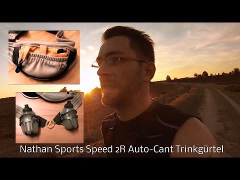 Produkttest, Testbericht Laufgurt Trinkgurt Nathan Sports Speed 2