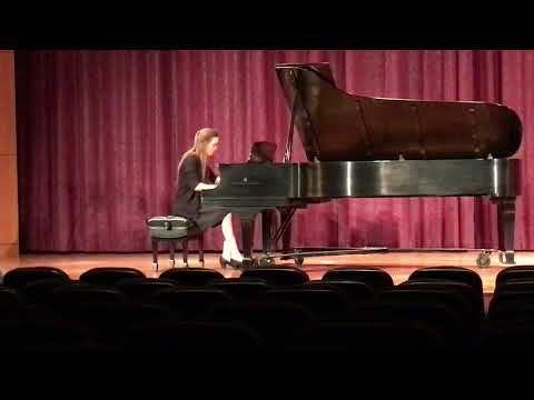 This is a performance of Brahms Intermezzo Opus 117, No.2 from my Undergraduate studies at Rollins College.