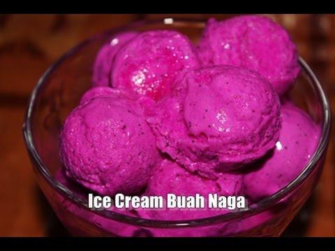 Video Membuat Ice Cream Buah Naga Enak, Lembut dan Mudah Sekali – Recipe Simple ala Zasanah