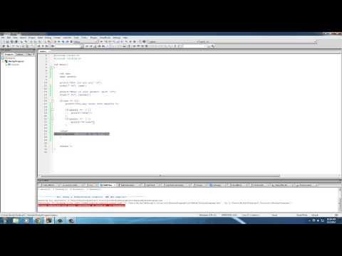 C Programming Tutorial – 19 – if else