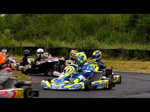 Super 1 Karting Ultra Slow Motion, Fulbeck Rd 6, 2017
