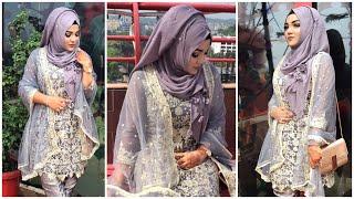 Party Hijab Style  Wedding Guest Hijab Style   Mutahhara♥️