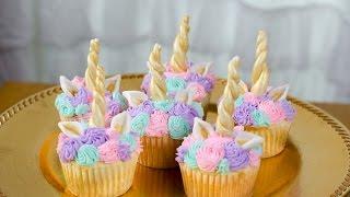 easy ways to make unicorn cupcakes
