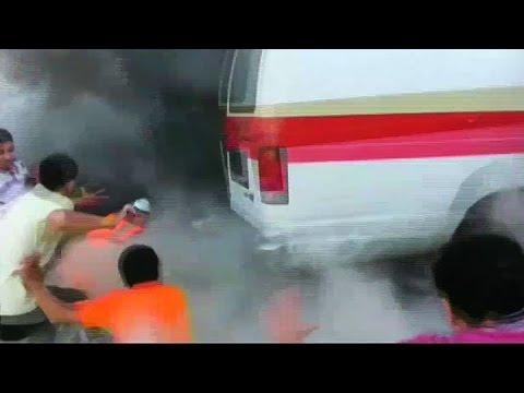 Video muestra cómo un misil israelí mata 17 personas en Gaza