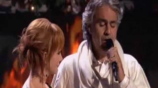 Andrea Bocelli feat  Reba McEntire - Blue Christmas (Live)