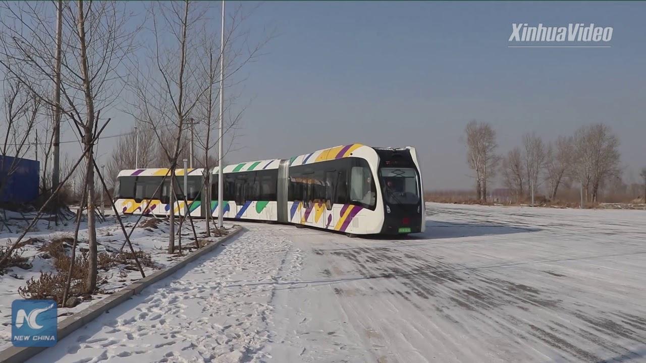 Электропоезд нового уровня на виртуальных путях