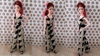 Gorgeous Barbie Dress Making   Beautiful Party Wear Doll Dress