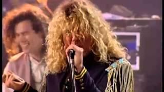 Led Zeppelin Reunion   Black Dog Rare Video