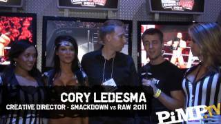 SvR 2011 E3: New Cory Ledesma Video Interview - 6 Players Online Confirmed
