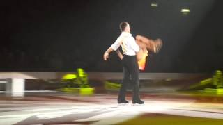 Dancing On Ice The Final Tour Alex & Lukasz 'Dancin' Fool' Manchester 30th March 2014