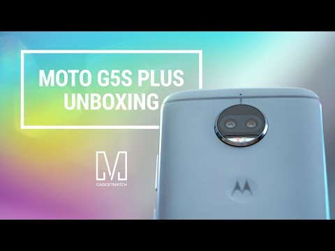 Moto G5s Plus Unboxing and Hands-on