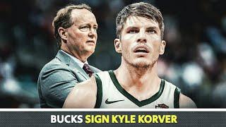 Kyle Korver MAY BAGONG Koponan Na!   Milwaukee Bucks