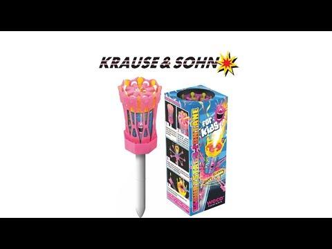 Geburtstagsfontäne für Kindergeburtstag - Tortenfontäne - Weco Feuerwerk