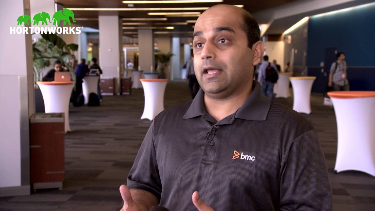 BMC Partner Interview Hadoop Summit San Jose 2016