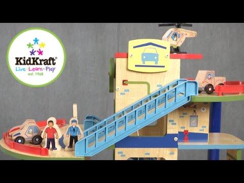 Wash N' Go Wooden Car Garage from KidKraft