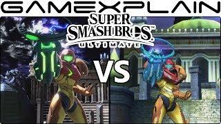 Super Smash Bros. Ultimate Stage Comparison (Switch vs 3DS!)