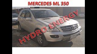 Mercedes ML 350 hidrojen yakıt sistem montajı