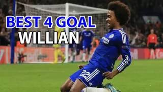 Willian Borges - Best 4 Goal With Chelsea