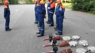 preview picture of video 'Löschangriff für Leistungsspange'