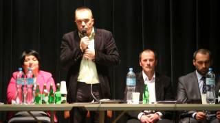 Spotkanie przedwyborczew Dukli  - Tomasz Węgrzyn
