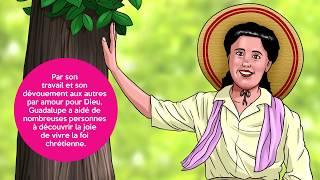 Guadalupe en dessin animé