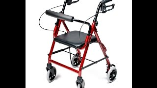 Lumex® Walkabout Junior Four Wheel Rollator