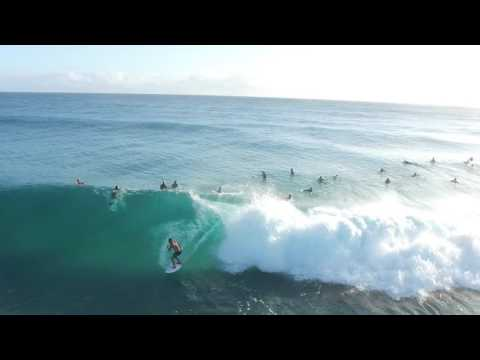 big fun waves at Surfers Paradise