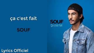 SOUF   Ça C'est Fait(LyricsParoles) Officiel