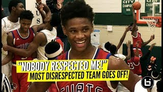 Chicago's Most Disrespected Team Goes OFF! DaJuan Gordon Leads Curie Statement Win vs Morgan Park!