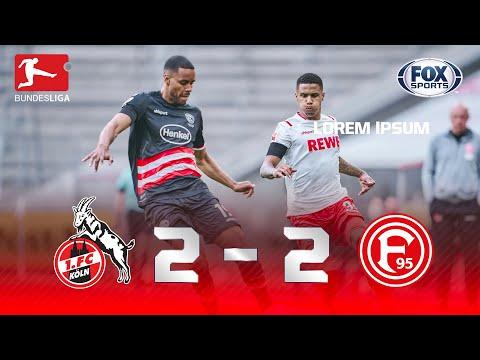 QUE FINAL ESPETACULAR! Melhores Momentos de Colônia 2 X 2 Fortuna Dusseldorf pela Bundesliga