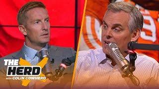 Joel Klatt talks Michigan, reveals his top 10, who can take down Alabama & Clemson | CFB | THE HERD