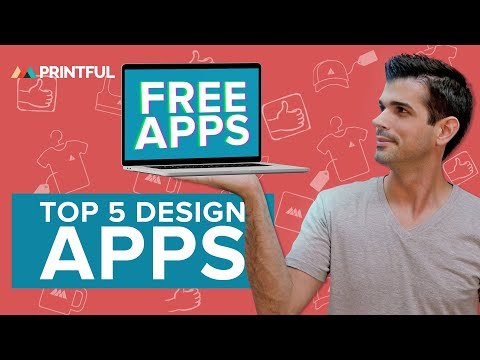 TOP 5 Free Design Apps For Creating T-Shirt Designs