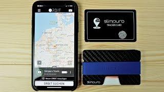 Nie wieder das Slim Wallet suchen! Bluetooth Tracker im Kreditkartenformat von Slimpuro!