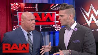 "Who called Raw GM Kurt Angle an ""embarrassment"": Raw, May 29, 2017"